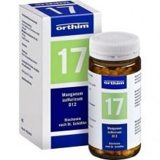BIOCHEMIE Orthim 17 Manganum sulfuricum D 12 Tabl. 400 St