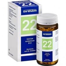 BIOCHEMIE Orthim 22 Calcium carbonicum D 12 Tabl. 400 St