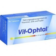 VIT OPHTAL mit 10 mg Lutein Tabletten 90 St