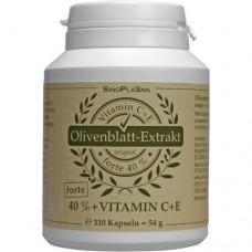 OLIVENBLATT-Extrakt forte 40%+C+E Kapseln 110 St