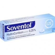 SOVENTOL Hydrocortisonacetat 0,25% Creme 20 g